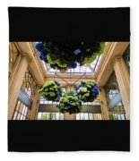 Life, Light And Architecture Fleece Blanket
