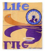 Life Magazine, 1926 Fleece Blanket