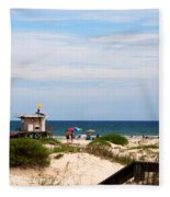 Lifeguard On Duty Fleece Blanket