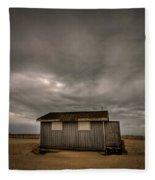 Lifeguard Shack Fleece Blanket