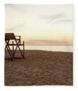 Lifeguard Stand Fleece Blanket