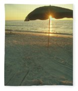 Life's A Beach Fleece Blanket