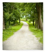 Life's Path Fleece Blanket