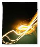 Light 3 Fleece Blanket