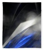 ''light And Blue Disc No.110'', Thu--17sep2015 Fleece Blanket
