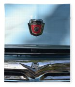 Light Blue Ford Pickup Fleece Blanket