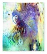 Light Dancer Fleece Blanket