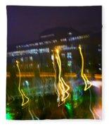 Light Ghosts Fleece Blanket