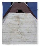 Light House At Montauk  Fleece Blanket