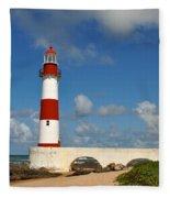 Light House Fleece Blanket