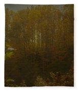 Light In Autumn Fleece Blanket