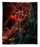 Light In Motion Fleece Blanket