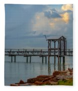 Light In The Sky Fleece Blanket