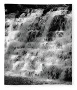 Light On The Jones Mill Run Dam Fleece Blanket