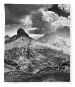 Light On The Valley Fleece Blanket