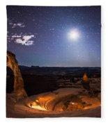 Light Painter Fleece Blanket