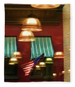 Light Reflection Nyc Canopy  Fleece Blanket