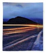 Light Streams Fleece Blanket