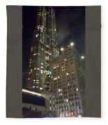 Light Up The City Fleece Blanket
