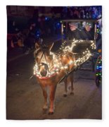 Lighted Pony Fleece Blanket