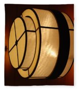 Lighted Wall  Fleece Blanket