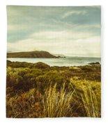 Lighthouse Bay Beach Bruny Island Fleece Blanket