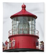 Lighthouse Detail Fleece Blanket