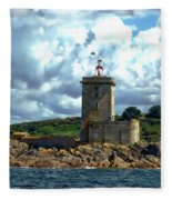 Lighthouse Ile Noire Fleece Blanket