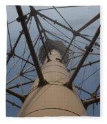 Lighthouse Marblehead Fleece Blanket