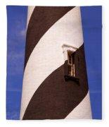 Lighthouse Stripes Fleece Blanket