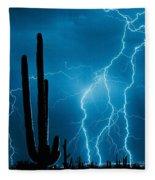 Lightning Fleece Blanket
