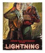 Lightning Bryce 1919 Fleece Blanket