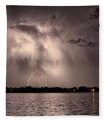 Lightning Man Fleece Blanket