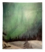 Lights Fleece Blanket