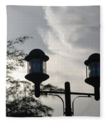 Lights In The Sky Fleece Blanket
