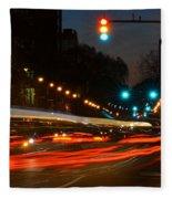 Lights Of The City Fleece Blanket