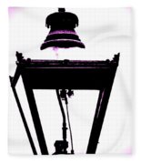 Lightshade In A Hint Of Purple Fleece Blanket
