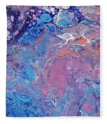 Lilac Grove Fleece Blanket