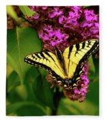 Lilac Landing Wall Art Fleece Blanket
