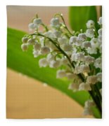 Lilies Of The Valley 1 Fleece Blanket