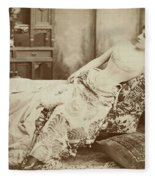 Lillie Langtry (1852-1929) Fleece Blanket