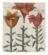 Lillies Fleece Blanket