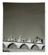 Lilliputian Minarets Fleece Blanket