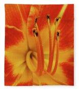Lilly Macro Fleece Blanket