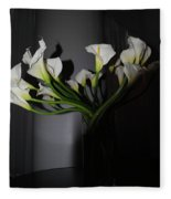 Lilly Of The Dark Fleece Blanket