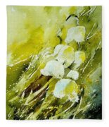 Lilly Of The Valley Fleece Blanket