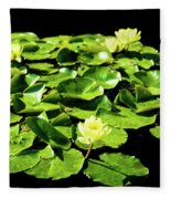 Lilly Pad Fleece Blanket