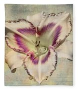 Lily For A Day Fleece Blanket