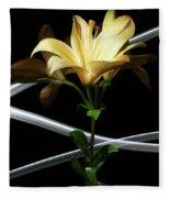 Lily Of The Field Fleece Blanket