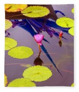 Lily Pads 2 Fleece Blanket